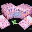 กระดาษโน้ต พร้อมกล่อง สีชมพูหวานแหวว ขนาด 10 x 14 cm. thumbnail 2