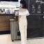 เสื้อผ้าแฟชั่นเกาหลี Lady Ribbon Thailand Normal Ally Present Boutique and classy playsuit thumbnail 3