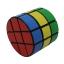 รูบิค Diansheng 3x3x3 ทรงกระบอก 3 ชั้น Barrel Puzzle Cube 3 Layers Cylinder thumbnail 3