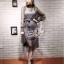 Elisa made Classy pleaty feminine see through Modern Dress thumbnail 4