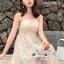 เสื้อผ้าแฟชั่นเกาหลี Lady Ribbon Thailand LUXURY by Seoul Secret ... Dress For a Beautiful Line Lace Embroidery thumbnail 2