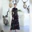 เสื้อผ้าแฟชั่นเกาหลี Lady Ribbon Thailand Normal Ally Present M.R.H Lilly silk chiffon printed dress thumbnail 1