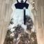 เสื้อผ้าแฟชั่นเกาหลี Lady Ribbon Thailand Normal Ally Present D.S.Y new collection dress thumbnail 4