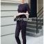 เสื้อผ้าแฟชั่นเกาหลี Lady Ribbon's Made Lady Anne Smart Casual Striped Crepe Ensemble Set thumbnail 4