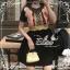 Elisa made Feminine Black Stripe Lace luxury style thumbnail 5