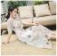 เสื้อผ้าแฟชั่นเกาหลี Lady Ribbon Thailand Lady Marie Fancy Flower Blossom Lace Maxi Dress thumbnail 3