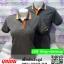 เสื้อโปโลสำเร็จรูป สีเทาขลิบส้ม เนื้อผ้า TK poly 100% เสื้อสำเร็จรูป thumbnail 1