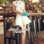 Seoul Secret Say's... Chiffon Lace Cami Shirt Skirt Set thumbnail 5