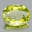 พลอยเพอริดอท (Peridot) พลอยธรรมชาติแท้ น้ำหนัก 1.05 กะรัต thumbnail 1