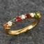 แหวนนพเก้า แบบเรียงแถว แหวนทองแท้ พลอยแท้ เพชรแท้ thumbnail 1