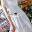 Seoul Secret Say's... Korea Princess Ivory Lace Dress thumbnail 2