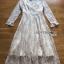 เสื้อผ้าแฟชั่นเกาหลี Lady Ribbon Thailand Lady Ribbon's Made Lady Pat Sweet and Classic Off-White Lace Dress thumbnail 4