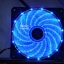 [Blue] Caser พัดลม PC 12CM ไฟสีน้ำเงิน thumbnail 1
