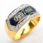 แหวนเงินชุบทอง สลักนามสกุลลงยา thumbnail 11