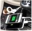 หัวชาร์จในรถ Hoco USB 2 ช่องพร้อมช่องจุดบุหรี thumbnail 4