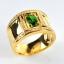 แหวนมรกตทองแท้ ประดับเพชรแท้ thumbnail 2