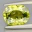 พลอยเพอริดอท (Peridot) พลอยธรรมชาติแท้ น้ำหนัก 1.05 กะรัต thumbnail 2