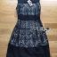 &#x1F380 Lady Ribbon's Made &#x1F380 Lady Emma Royal Elegant Classic Black Lace Dress thumbnail 4