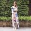 เสื้อผ้าแฟชั่นเกาหลี Lady Ribbon Thailand Normal Ally Present K.S new collection dress thumbnail 1