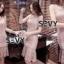 เสื้อผ้าแฟชั่นเกาหลี SEVY SHOP new dress lace Korean elegant sleeveless Slim fish tail sexy ladies temperament package hip dress skirt thumbnail 4