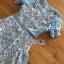 เสื้อผ้าแฟชั่นเกาหลี Lady Ribbon Thailand Lady Ribbon's Made Lady Eva Feminine Vivid Blue Lace Dress thumbnail 5