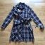 เสื้อผ้าแฟชั่นเกาหลี Lady Ribbon Thailand Lady Ribbon's Made Lady Rachel Ribbon Twist Tartan Wool Shirt Dress thumbnail 4