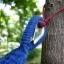 เปลญวนนอนผ้าสลับสีขอบไม้สีขาวอ่อน (ห่วงแขวนแข็งแรง) thumbnail 6