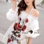 Seoul Secret Say's... Valent Rosey Smokking Dress thumbnail 6