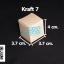 กล่องกระดาษคราฟ กว้าง 3.7 ซม. x ยาว 3.7 ซม. x สูง 4 ซม. thumbnail 1