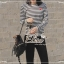 Elisa made Heart Beat Stripe Shirt Chilling Outfit thumbnail 7