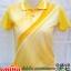 เสื้อโปโล สีเหลืองอัดลาย ทรงสปอร์ต คุณภาพเยี่ยม thumbnail 1