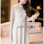 เสื้อผ้าแฟชั่นเกาหลี Lady Ribbon Thailand Lady Ribbon's Made Lady Pat Sweet and Classic Off-White Lace Dress thumbnail 1