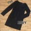 เสื้อผ้าแฟชั่นเกาหลี Sevy Round Neck Long Sleeve Lace Classic Mini Dress thumbnail 4