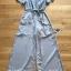 เสื้อผ้าแฟชั่นเกาหลี Lady Ribbon Thailand Lady Ribbon's Made Lady Zara Summer Style Floral Printed Jumpsuit thumbnail 4