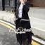 Seoul Secret Say's... Ladiest Chill Out Jacket Lace Skirt Set thumbnail 4