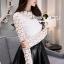 Seoul Secret Say's... Ivory Daisy Lace Blouse thumbnail 3