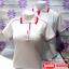 เสื้อโปโลสำเร็จรูป สีขาวขลิบสีต่างๆ เนื้อผ้า TC คุณภาพอีระดับสวมใส่สบาย ราคาเบาๆ thumbnail 2