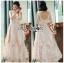 เสื้อผ้าแฟชั่นเกาหลี Lady Ribbon's Made Lady Olivia Elegant Chic Flower Embroidered Lace Cocktail Dress thumbnail 1