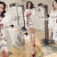 Seoul Secret Say's... Valent Rosey Smokking Dress thumbnail 1