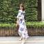 เสื้อผ้าแฟชั่นเกาหลี Lady Ribbon Thailand Normal Ally Present K.S new collection dress thumbnail 2