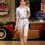 เสื้อผ้าแฟชั่นเกาหลี Lady Ribbon Thailand Normal Ally Present C.N new collection shirt and pant set thumbnail 2