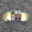 แหวนนพเก้า ทองคำขาว เพชรแท้ พลอยแท้ ชุบ2กษัตริย์ thumbnail 1
