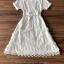 เสื้อผ้าแฟชั่นเกาหลี Lady Ribbon Thailand Seoul Secret Say's...Dress Shirt Feather Tassel thumbnail 3
