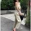 เสื้อผ้าแฟชั่นเกาหลี Lady Ribbon Thailand Lady Ribbon's Made Lady Lily Casual Chic Ribbon Jumpsuit thumbnail 2