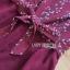 เสื้อผ้าแฟชั่นเกาหลี Lady Ribbon Thailand Lady Ribbon's Made Lady Zara Summer Style Floral Printed Jumpsuit thumbnail 12