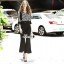 เสื้อผ้าแฟชั่นเกาหลี Lady Ribbon Thailand Korea Design By Lavida Fashionable striped printing jumpsuit code1814 thumbnail 1