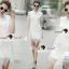 Seoul Secret Say's... Turtleneck Flora Ivory Lace Dress thumbnail 1