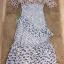 เสื้อผ้าแฟชั่นเกาหลี Lady Ribbon Thailand Normal Ally Present Embroider flower and lace new collection dress thumbnail 4