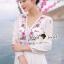 Seoul Secret Say's... Salmon Pink Blossom Summer Maxi Dress thumbnail 9