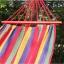 เปลญวน ผ้าสลับสี ขอบไม้ 200CM*80CM thumbnail 5